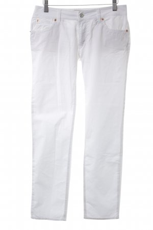 Drykorn Straight-Leg Jeans weiß Street-Fashion-Look