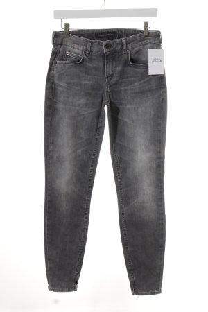 Drykorn Stretch Jeans grau Casual-Look