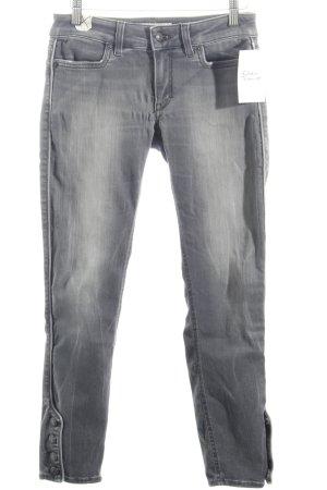 Drykorn Stretchhose grau Urban-Look