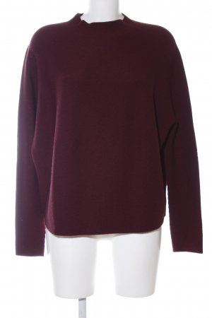 Drykorn Strickpullover rot Casual-Look