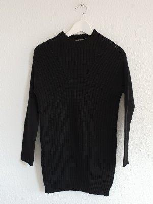 Drykorn Grof gebreide trui zwart Scheerwol