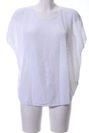 Drykorn Strickshirt weiß Casual-Look