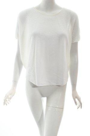 Drykorn Strickshirt wollweiß klassischer Stil
