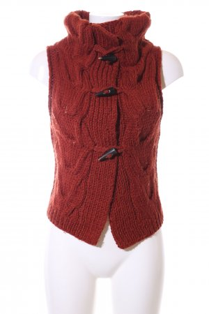 Drykorn Strickweste rot Casual-Look