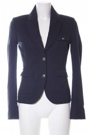 Drykorn Sweatblazer blau Business-Look