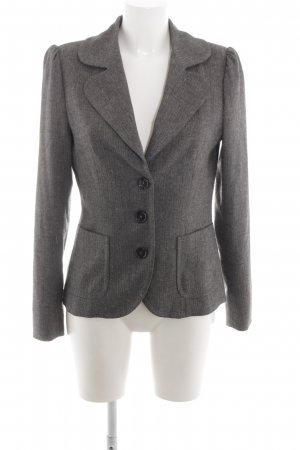 Drykorn Sweatblazer hellgrau meliert Business-Look