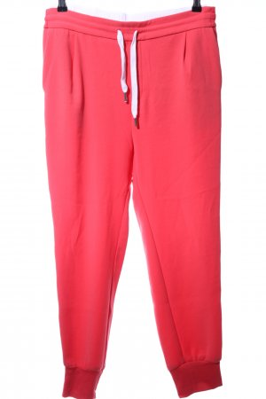 Drykorn Sweat Pants red-white striped pattern casual look