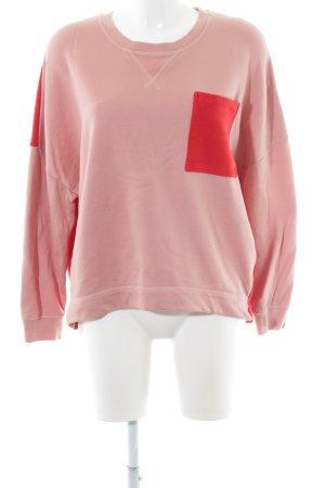 Drykorn Sweatshirt nude-rot Casual-Look