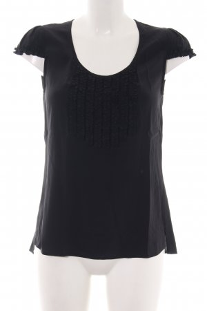 Drykorn T-Shirt schwarz Business-Look