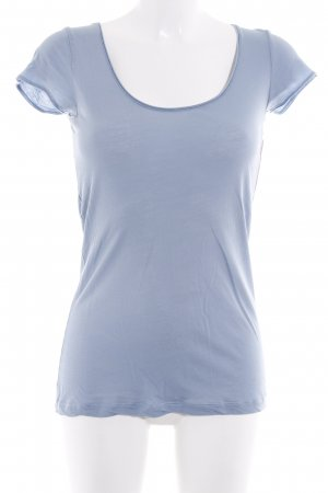 Drykorn T-Shirt blassblau Casual-Look