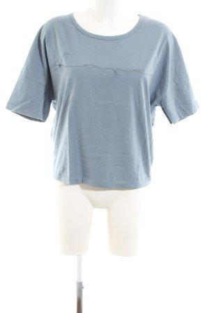 Drykorn T-Shirt blau Casual-Look