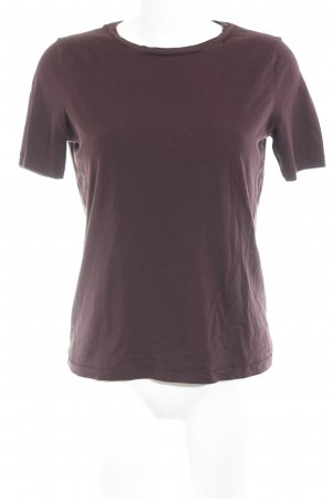 Drykorn T-Shirt braunrot Casual-Look