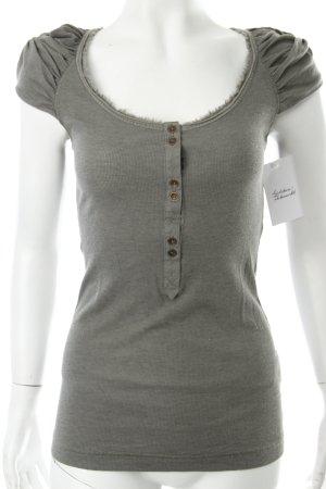 Drykorn T-Shirt grüngrau