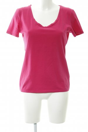Drykorn T-Shirt magenta Casual-Look