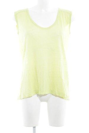 Drykorn T-Shirt neongelb Casual-Look