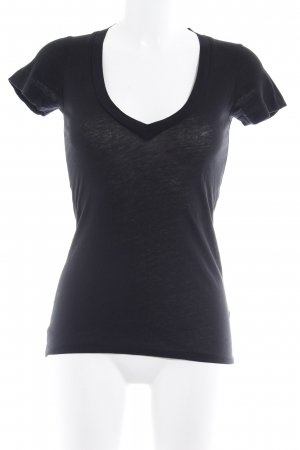 Drykorn T-Shirt schwarz Casual-Look