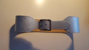 Drykorn Waist Belt silver-colored leather