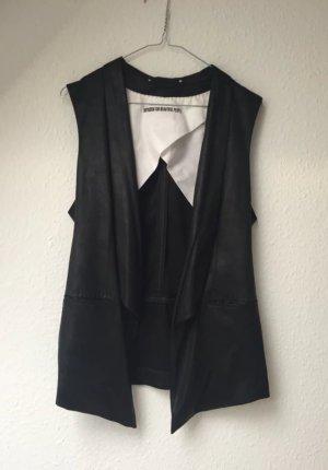 Drykorn Leather Vest black