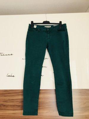 Drykorn Five-Pocket Trousers dark green-petrol