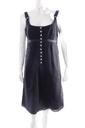 Drykorn Trägerkleid dunkelblau-stahlblau Romantik-Look