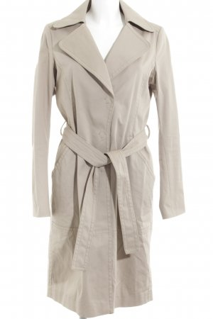 Drykorn Trenchcoat camel casual uitstraling