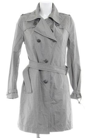 Drykorn Trenchcoat grijs klassieke stijl