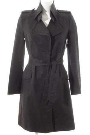 Drykorn Trenchcoat schwarz Casual-Look