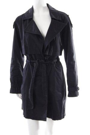 Drykorn Trenchcoat schwarz schlichter Stil