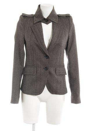 Drykorn Tweed blazer lichtbruin-zwart bruin klassieke stijl