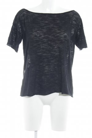 Drykorn Boatneck Shirt black casual look