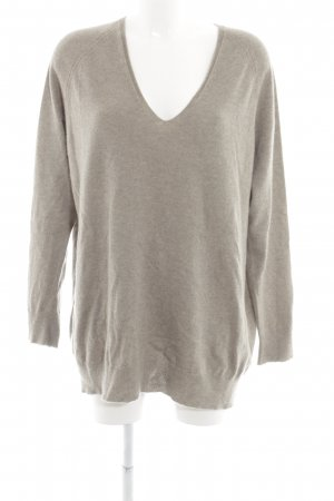 Drykorn V-Ausschnitt-Pullover beige Casual-Look