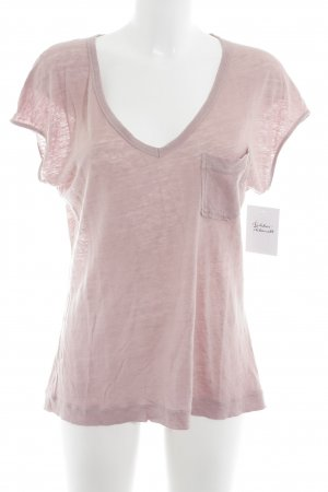 Drykorn V-Neck Shirt dusky pink casual look