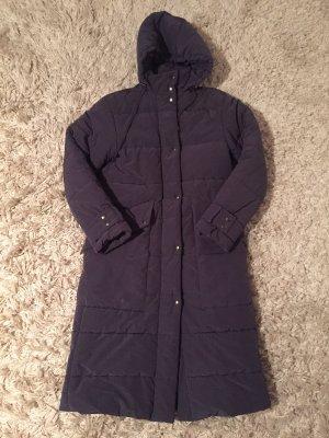Drykorn Manteau d'hiver gris violet-rouge foncé