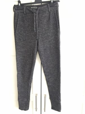 Drykorn Woolen Trousers black-anthracite
