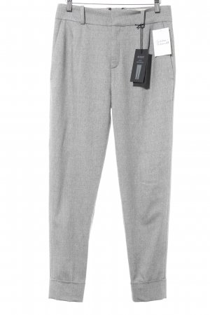 Drykorn Wollen broek grijs Britse uitstraling