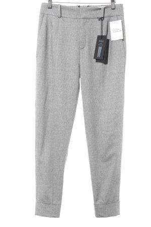 Drykorn Pantalon en laine gris style anglais