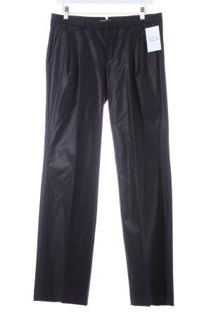 Drykorn Wollhose schwarz klassischer Stil