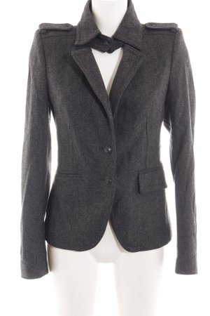 Drykorn Wolljacke schwarz meliert Business-Look
