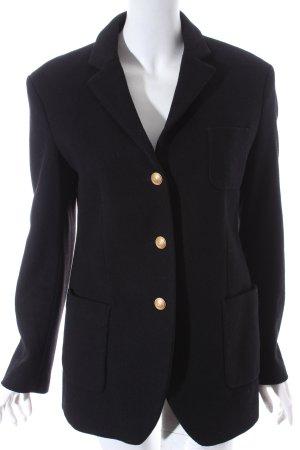 Drykorn Wolljacke schwarz klassischer Stil