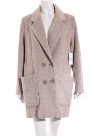 Drykorn Manteau en laine beige clair molletonné