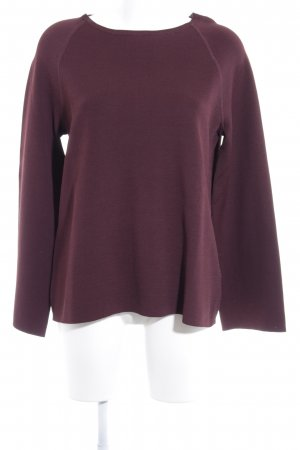 Drykorn Wollpullover braunrot Casual-Look