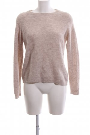 Drykorn Wollpullover pink meliert Casual-Look