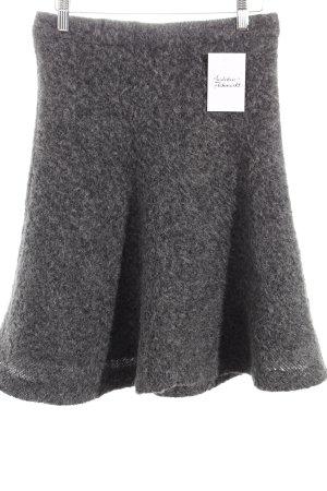 Drykorn Wollrock grau extravaganter Stil