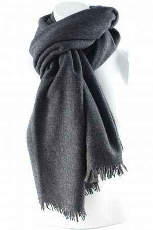 Drykorn Woolen Scarf anthracite casual look
