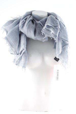 Drykorn Wollen sjaal lichtgrijs gestippeld casual uitstraling