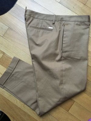 Dsquared2 Pantalone chino color cammello Cotone
