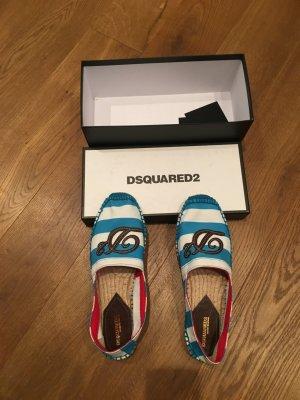 Dsquared2 Espadrille sandalen veelkleurig