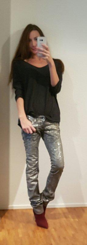 Dsquared² glitter jeans S72LA0279 it40 D34 xs w25