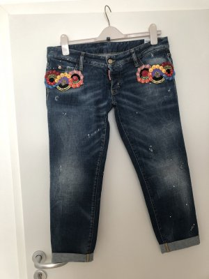 Dsquared2 Low Rise Jeans dark blue