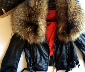 Dsquared Lederjacke blogger